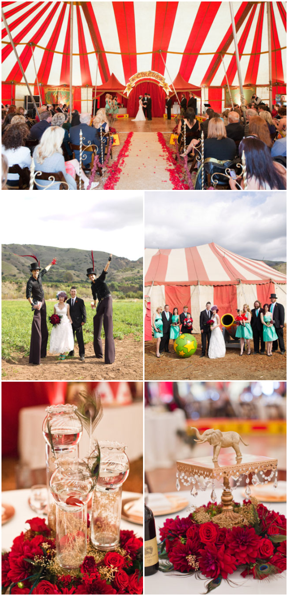 Running Away With The Circus | E&I Blog | Carnival wedding ...