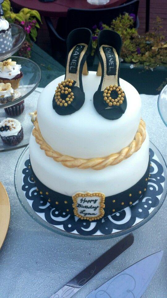High Heel 60th Birthday Fondant Shoe Cake For My Mom
