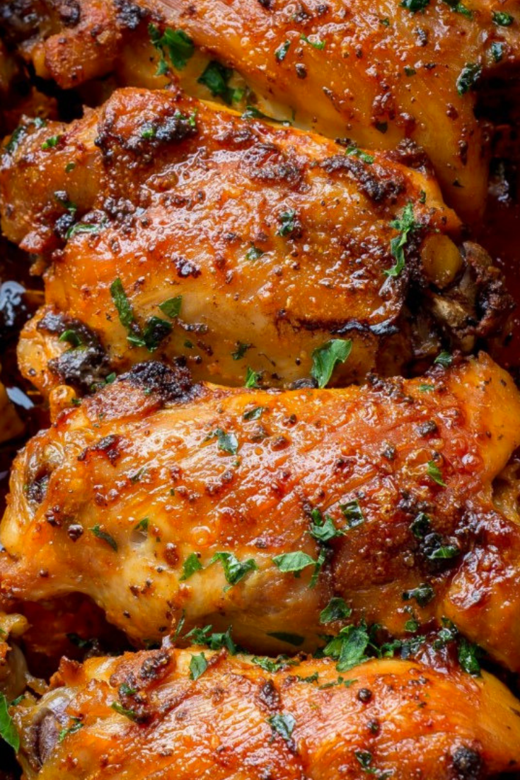 Paprika Baked Chicken Thighs images