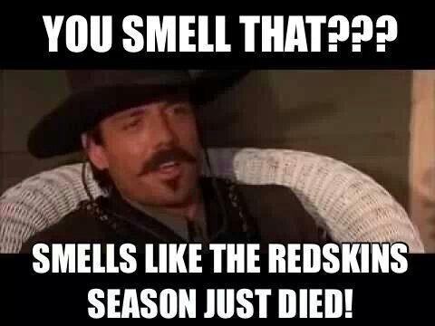 Johnny Ringo Redskins Meme Freaking Great Sports Girl Pinterest