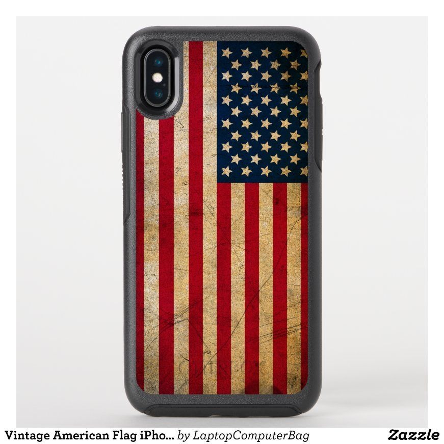 Vintage American Flag iPhone 11 Pro Max Case   in 2021
