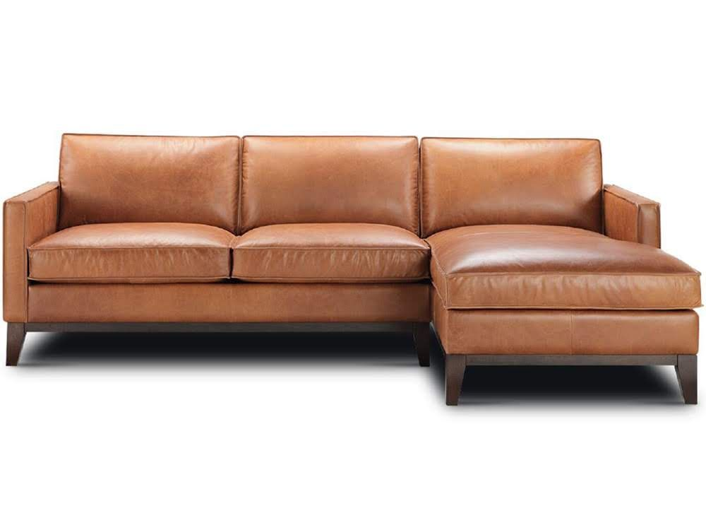 Chaise In Manchester Saddle Leather