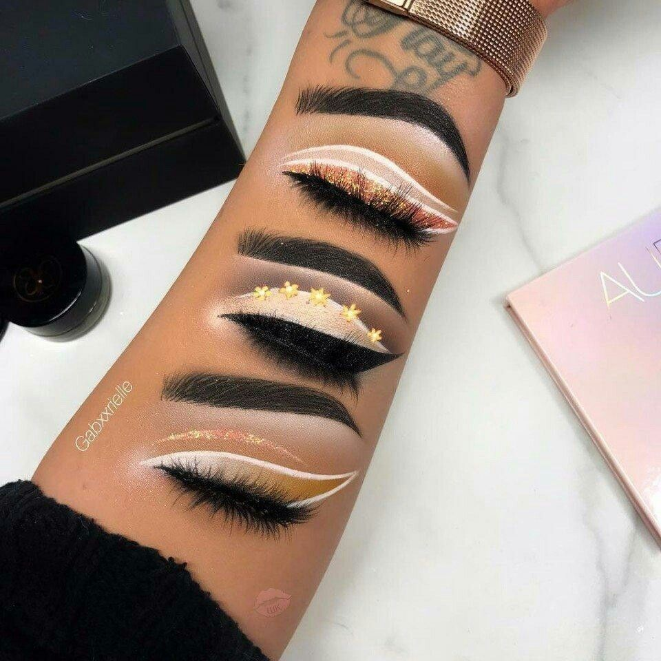 Eye Make Up On Your Arms Love The Second One Eye Makeup Eyebrow