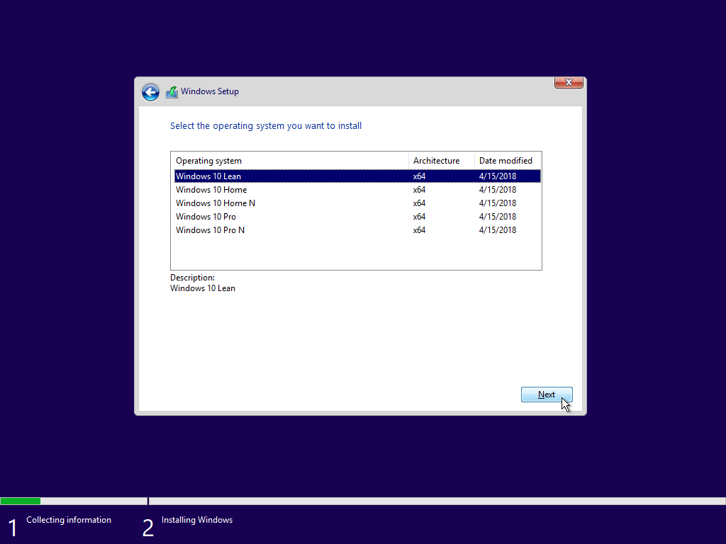 Windows 10 Lean Is A New Edition Of Windows For Devices With 16gb Storage Windows 10 Windows Store Windows