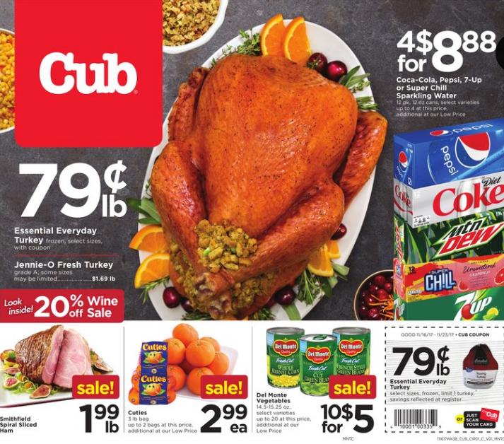 ปักพินในบอร์ด Cub Foods
