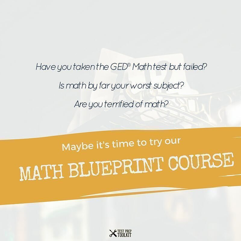 If you answered YES to any of these questions Think of our GED Math - new blueprint resumes & consulting reviews