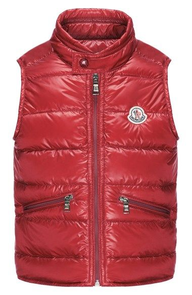 ee5645eb0622 Moncler  Gui  Water Resistant Quilted Down Vest (Toddler Boys ...