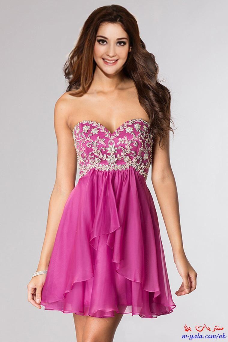 فساتين سهرة قصيرة للصبايا اشيك فساتين خروج للمراهقات 2015 Mini Homecoming Dresses Cheap Homecoming Dresses Homecoming Dresses