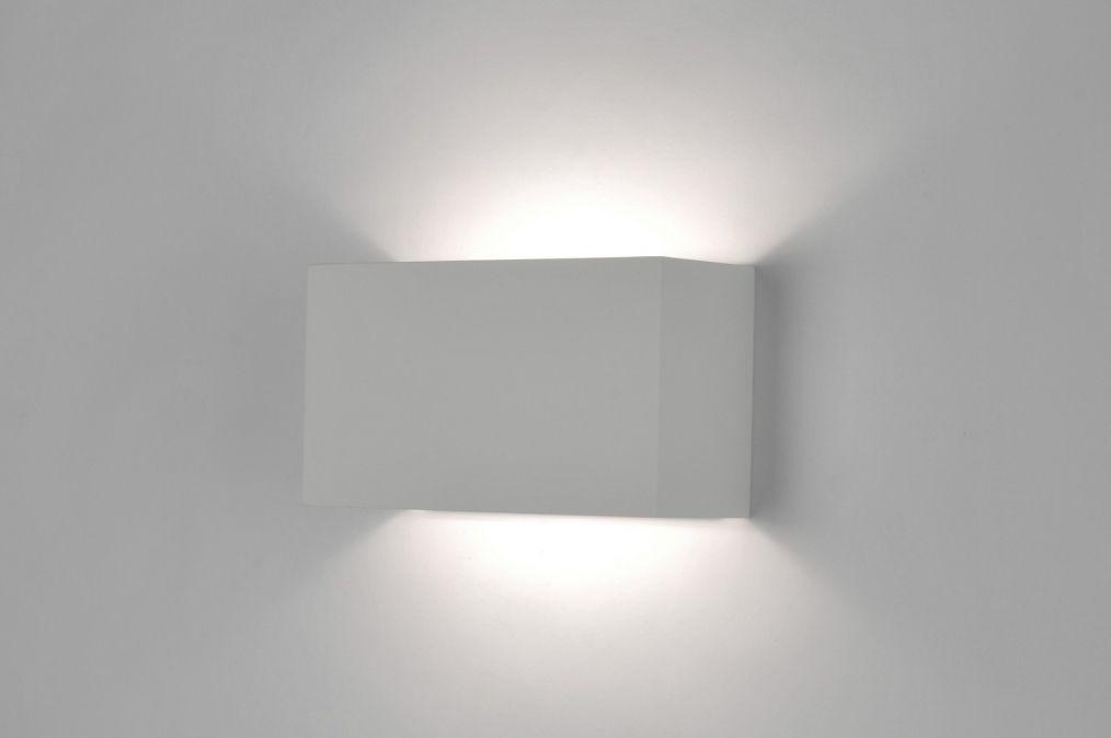 Applique murale moderne design blanc mat idées