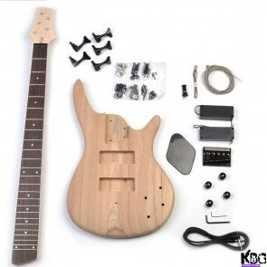 5 string bass sr style diy build your own bass guitar kit kbg 5sr a selection of amazing value electric bass guitar kits available build your own bass guitar