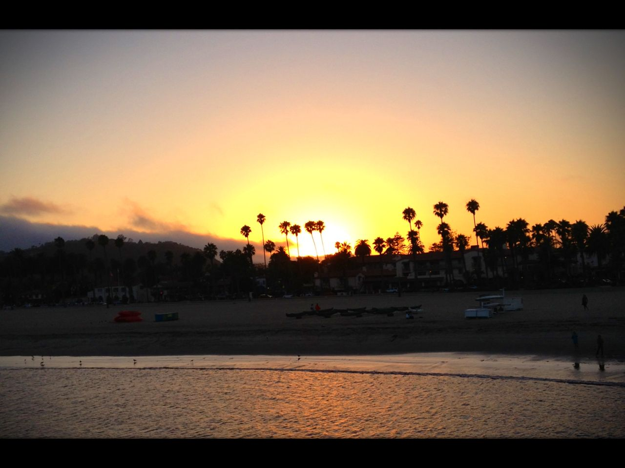 #beach #california #sunset #santabarbara