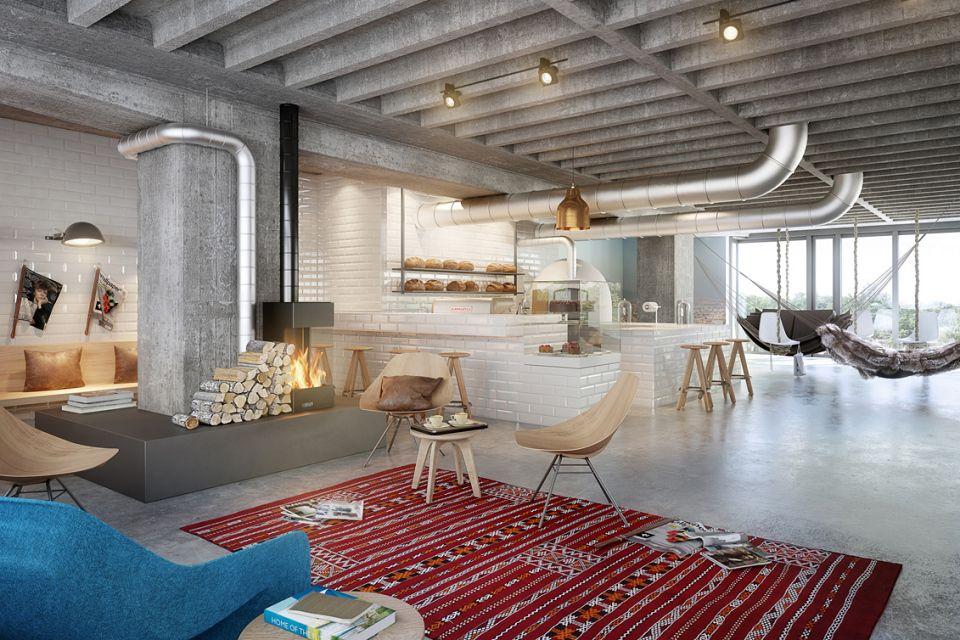25hours Hotel Bikini Berlin by Studio Aisslinger | Innsides #interiordesign #travel