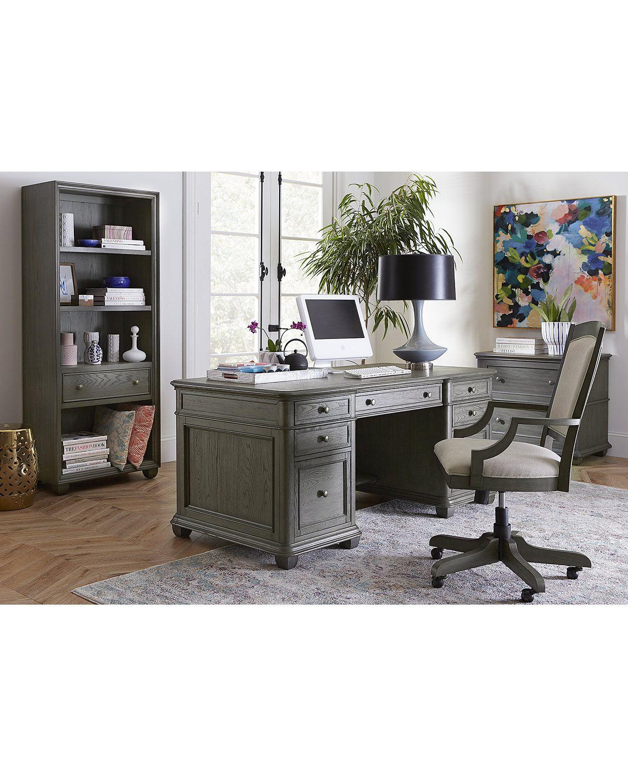 Furniture Sloane Home Office, 4-Pc. Set (Executive Desk