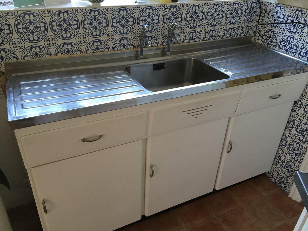 1950 S Vintage Kitchen Sink Unit Vintage Kitchen Sink