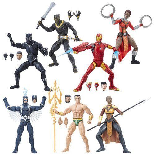 """Marvel Legends Avengers Series Erik Killmonger Infinity War Action Figure 6/"""" Toy"""