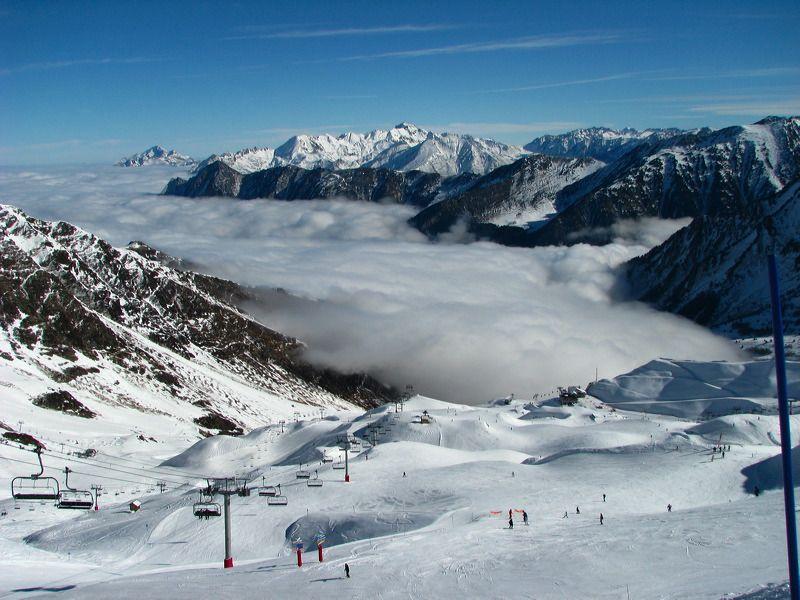 Cauterets et son paysage incroyable! #ski  Pyrénées