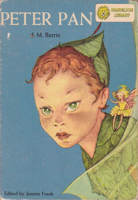 Peter Pan Published By Random House Series Dandelion Library Illustrated By Marjorie Torrey Peter Pan Fairy Tales Vintage Children S Books