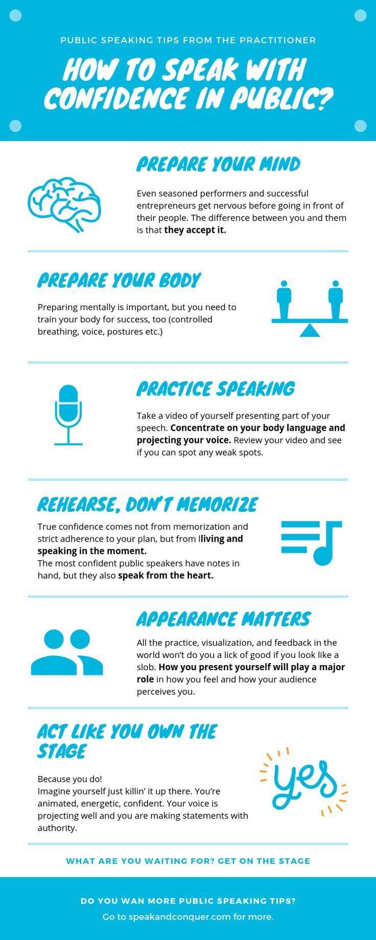 How to speak with confidence in public? | Public speaking ...