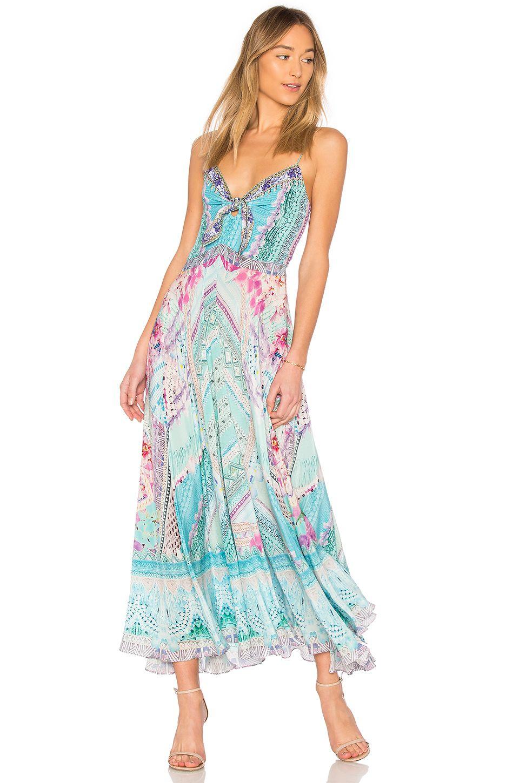 bf491494669d CAMILLA TIE FRONT DRESS. #camilla #cloth #   Camilla in 2019   Tie ...