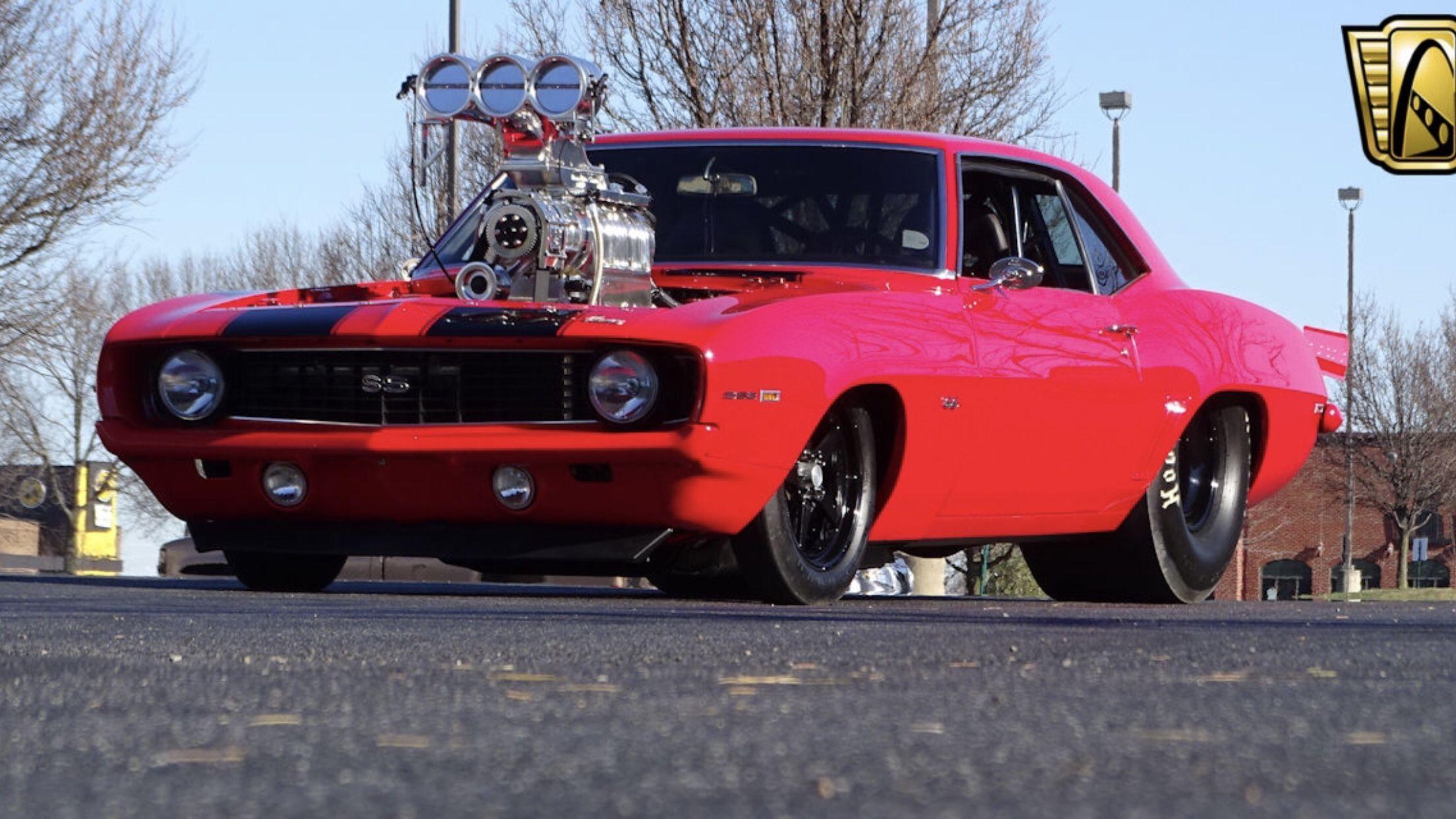 Gateway Classic Cars Blown 1969 Prostreet Camaro Camaro Hot Rods Cars Muscle Drag Racing Cars