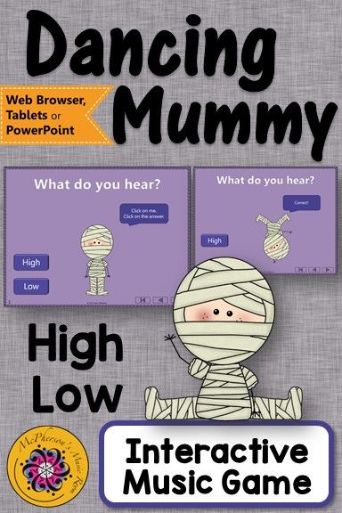 Halloween Music: High Low Interactive Music Game and Assessment ...