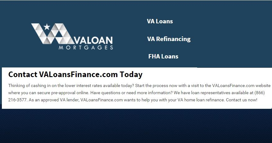 Refinance Your Home With The Va Loan Refinance Experts Va Loan