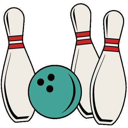 Bowling pin. Pins and ball svg