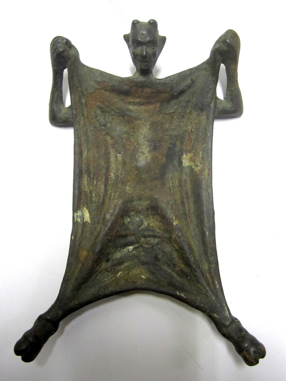 Vintage Verona 555 Metal Devil Satan Ash Tray Very Unique