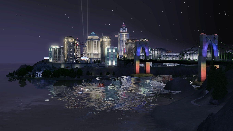 Bridgeport | The Sims | New york skyline, Sims 3, Sims