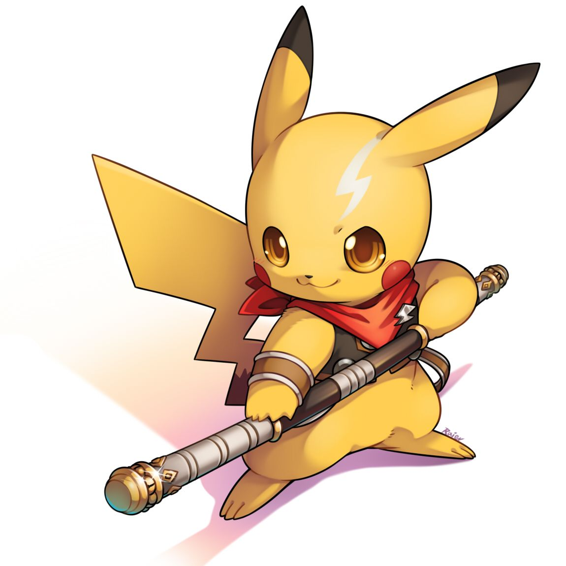 Sexy animated pikachu