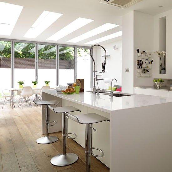 ... White Kitchens With Islands  White Kitchen Island