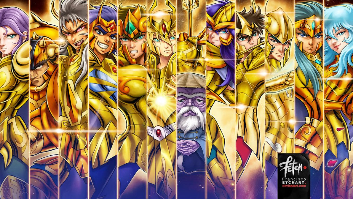 Gold Saints Wallpaper By Franciscoetchart Cavaleiros Do Zodiaco