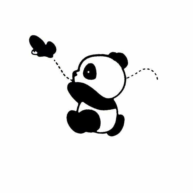 Pin By Clare Weaver On My Quotations Panda Wallpapers Panda Art Panda Drawing
