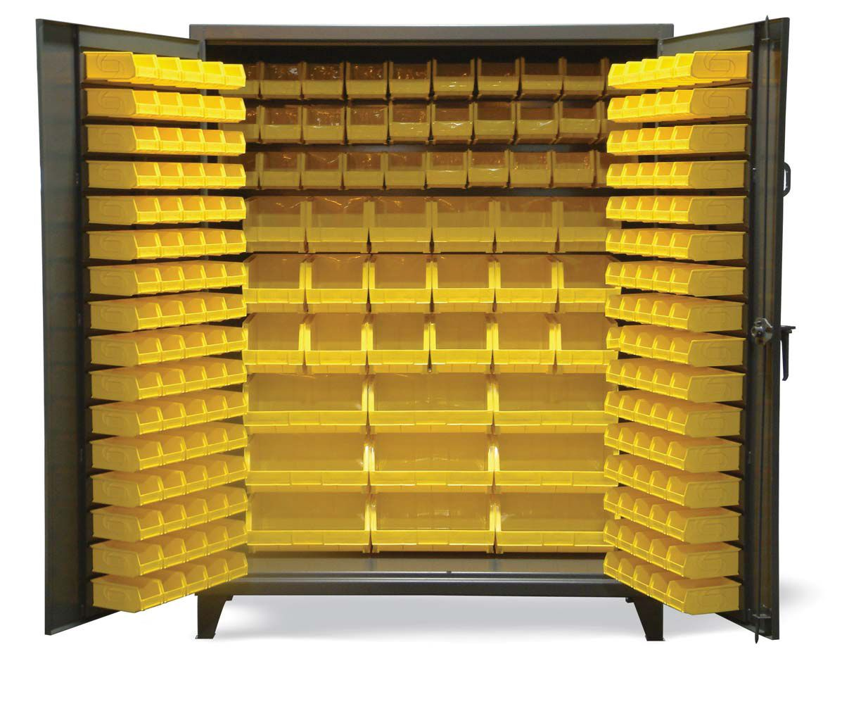 Strong Hold Products Bins Storage Bins Cabinet