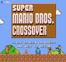 Super Mario Crossover Http Www Explodingrabbit Com Media Flash Smbcpreloader Swf Mario Games Online Games Nintendo Games Online