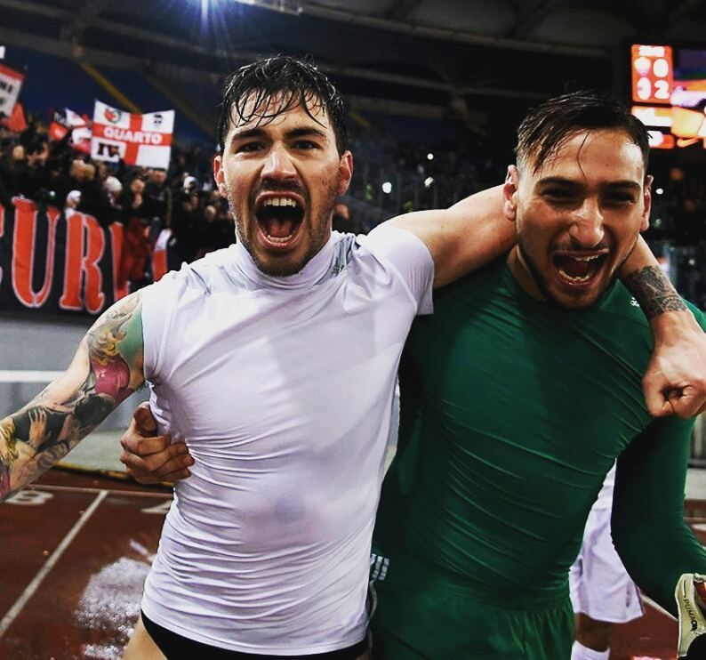 Alessio Romagnoli & Gianluigi Donnarumma #alessioromagnoli #donnarumma  #gianluigidonnarumma #acmilan #italy #calcio #soccer #football … (con  immagini) | Ac milan, Calcio, Football