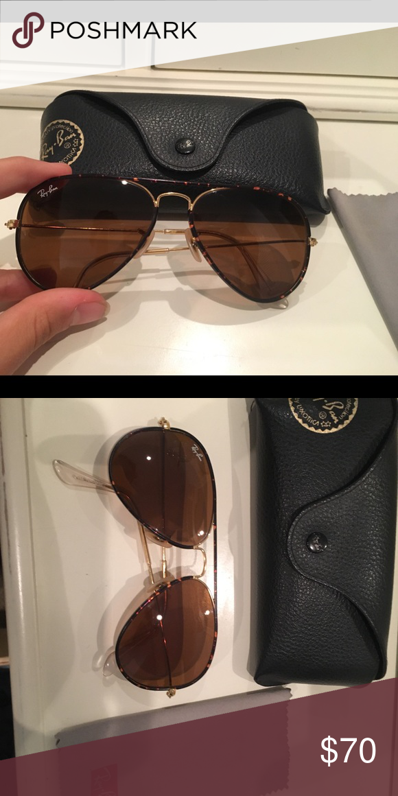 71d93632d2 Men s Ray Ban Aviator Full Color Polorized Multi-Seasonal Aviator  Sunglasses Ray-Ban Accessories Glasses