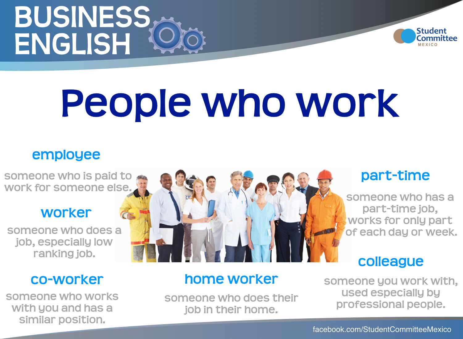 People Who Work Business English