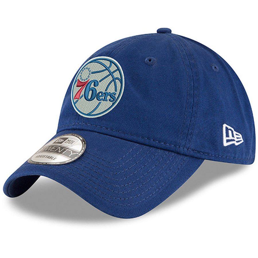 c462f56755358 Men s Philadelphia 76ers New Era Royal Unite 9TWENTY Adjustable Hat ...