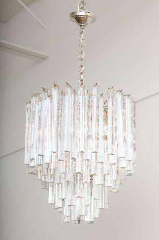 Venini Crystal Chandelier Chandelier Crystal Prisms