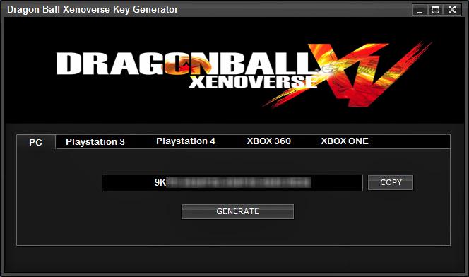 dragon ball xenoverse 2 product key free
