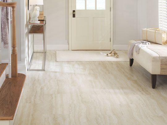 GFLOT612 OnyxTrav Cream  Tarkett  Vinyl flooring kitchen