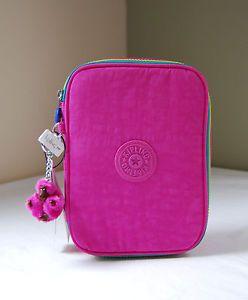 94c6e1a1f Kipling Breezy Pink AC3657 100 Pens Case | Kipling | Pen case, Pink ...