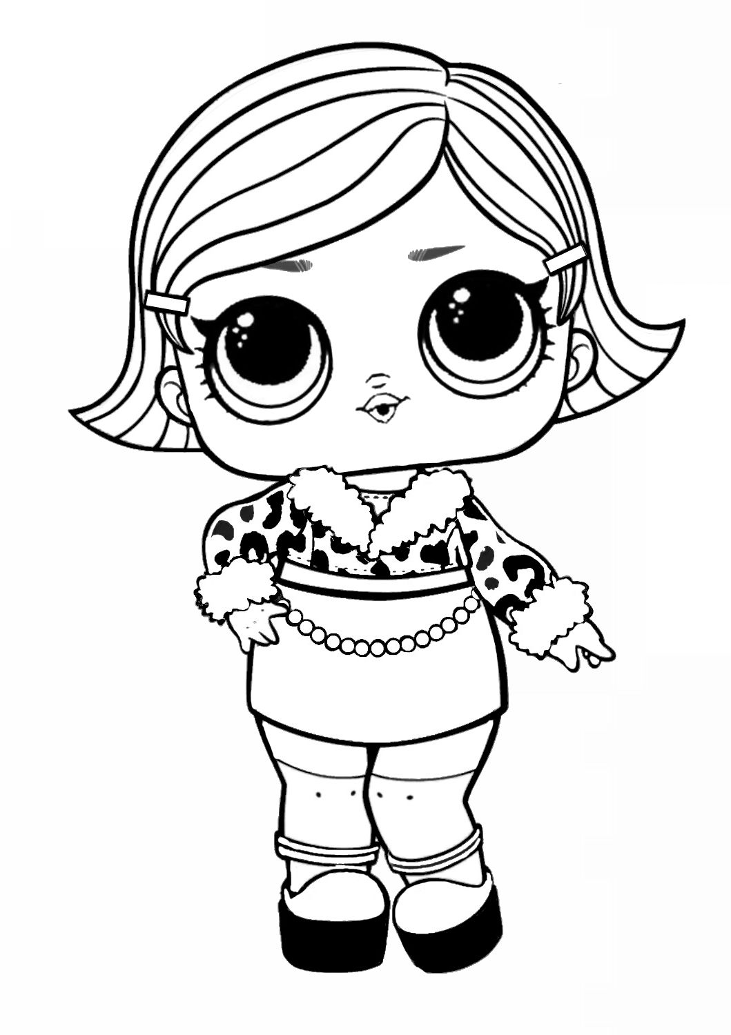 Lol Surprise Coloring Pages Easy In 2021 Lol Coloring Baby Coloring Pages Lol Coloring Pages