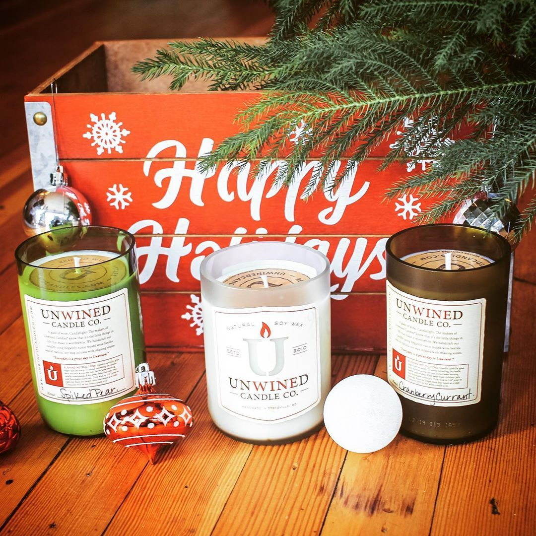 2019 Holiday Collection Available Now At Unwinedcandles Com Happy Holidays Everyone Ps Can We Recommend Hot Co Wine Bottle Ketchup Bottle Rose Wine Bottle