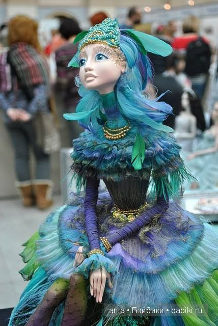 Авторские куклы Елены Глузман / Авторская кукла известных дизайнеров / Бэйбики. Куклы фото. Одежда для кукол