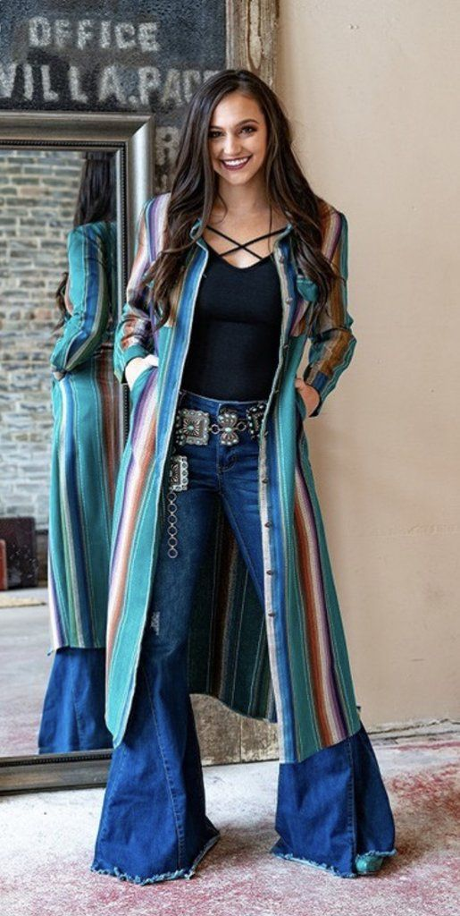 Searcy Turquoise Duster