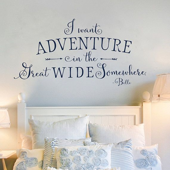 Adventure Awaits Wall Decal Adventure Wall Quote Kid S Etsy Kids Room Wall Decals Kids Room Wall Decor Wall Decor Bedroom