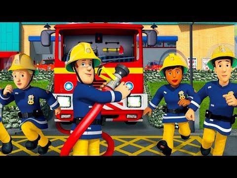 Sam le pompier en francais attention aux voies de chemin de fer dessin anim youtube - Sam le pompier dessin anime en francais ...