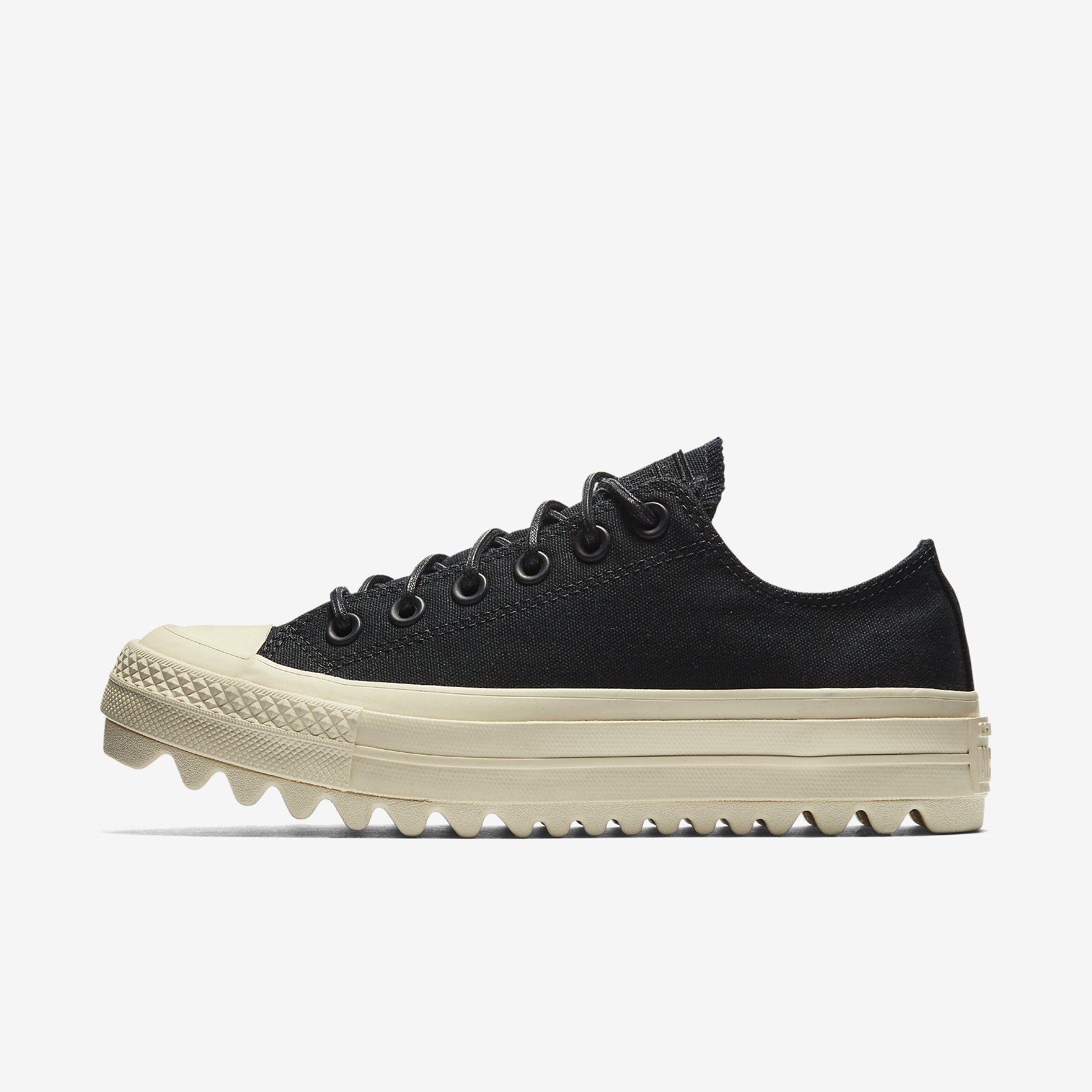 71246c1fa62b Converse Chuck Taylor All Star Lift Ripple Canvas Low Top Women s Shoe.  Nike.com